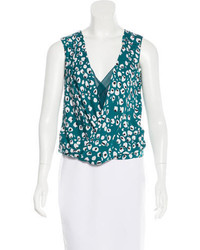 Diane von Furstenberg Printed Sleeveless Top