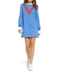 English Factory Varsity Stripe Knit Dress