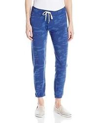 Blue Print Sweatpants