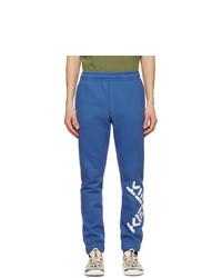 Kenzo Blue Sport Logo Lounge Pants