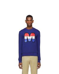 Moncler Blue Logo Sweatshirt