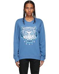Kenzo Blue Original Tiger Sweatshirt