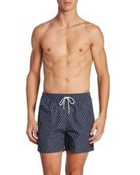 Salvatore Ferragamo Rooster Printed Swim Shorts