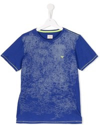 Armani Junior Scribble Print T Shirt