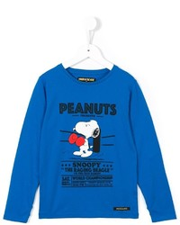Finger In The Nose Boxing Peanuts Print T Shirt