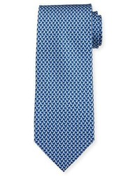 Bird print silk tie medium 4380688