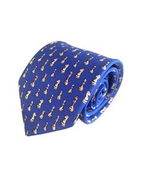 Lazyjack Press Checkmate Silk Tie