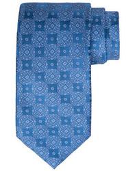 Medallion print silk tie medium 5276606