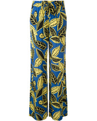 Moschino Boutique Printed Drawstring Palazzo Pants