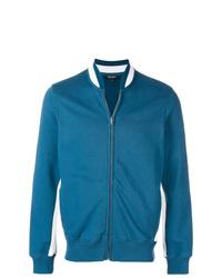 Ron Dorff Side Lines Zipped Sweatshirt