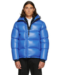 Moncler Blue Down Guitry Jacket