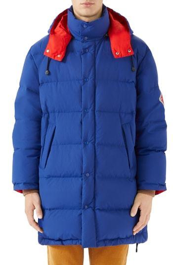 921c8f344 Gucci Matte Down Jacket, $2,600 | Nordstrom | Lookastic.com