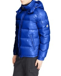 ... Moncler Maya Lacquered Down Jacket