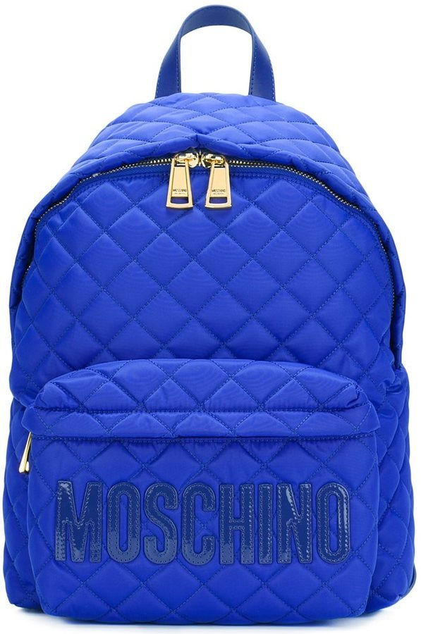 a7936061dd4 Moschino Quilted Backpack