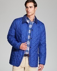 Barbour Pantone Collection Chip Diamond Quilted Jacket