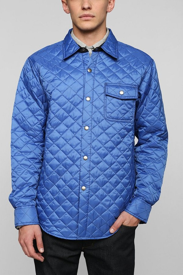 Uo Muttonhead Quilted Coaches Jacket Where To Buy How To Wear