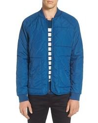 Fullton zip in compatible quilted bomber jacket medium 1150277