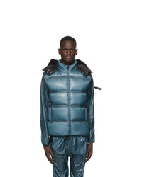 Moncler Genius Blue Down Quilted Vest