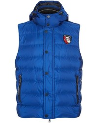 Paul & Shark Down Gilet With Hood