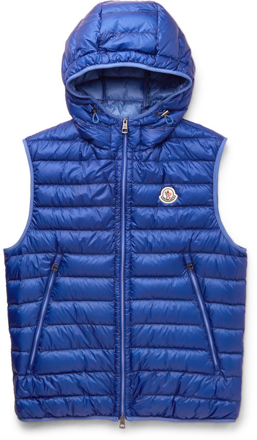 ... Moncler Moncler Morellet Quilted Shell Down Gilet