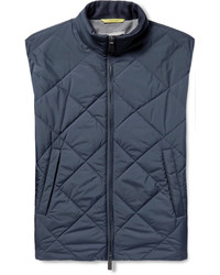 Canali Reversible Water Resistant Quilted Shell Gilet