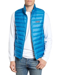 Patagonia Windproof Water Resistant 800 Fill Power Down Quilted Vest