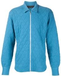 The Elder Statesman Effa Quilted Zip Shirt Jacket