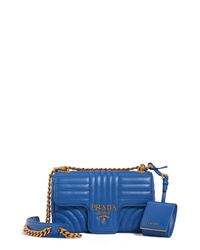 Prada Small Quilted Leather Shoulder Bag