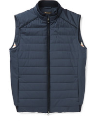 Quilted storm system shell gilet medium 609868