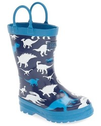 Hatley Toddler Boys Dino Waterproof Rain Boot