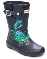 Hunter Toddlers Kids Sea Creatures Rain Boots
