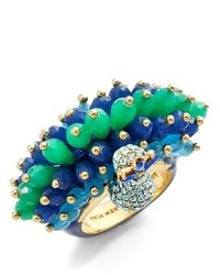 Kate Spade New York Full Plume Beaded Ring