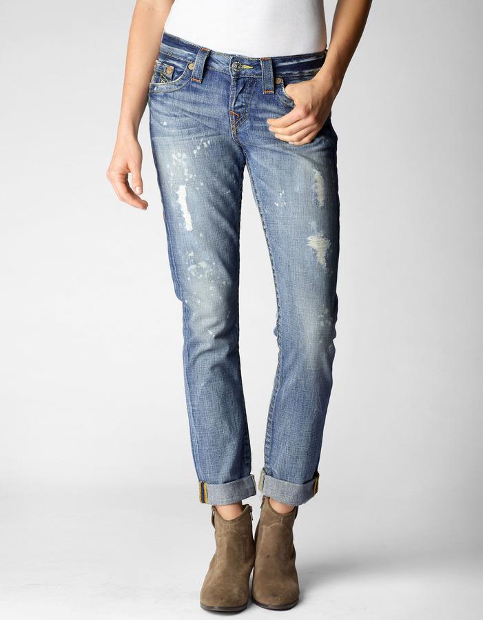 True Religion Brianna Boyfriend Jean | Where to buy & how to wear