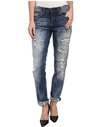 Blank NYC Distressed Denim Boyfriend Relaxed Straight Jean In Fit Of Rage Jeans