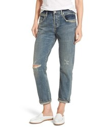 Emerson ripped slim boyfriend jeans medium 5262629
