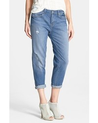 Marc by Marc Jacobs Jessie Destroyed Boyfriend Crop Jeans Bleecker Size 27 27