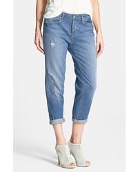 Marc by Marc Jacobs Jessie Destroyed Boyfriend Crop Jeans Bleecker Size 28 28