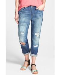 Marc by Marc Jacobs Taylor Destroyed Cuff Boyfriend Jeans Drew Size 24 24