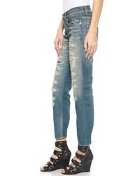 R13 shredded jeans Cheap 100% Authentic qiewetadV