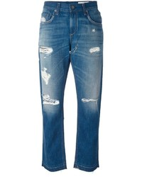 Rag & Bone Jean Distressed Boyfriend Jeans