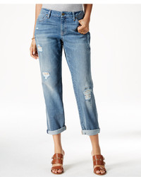 Tommy Hilfiger Ripped Medium Wash Boyfriend Jeans
