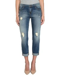 Rock & Republic Indee Ripped Slim Fit Boyfriend Jeans