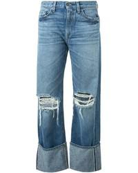 Simon Miller Ripped Boyfriend Jeans