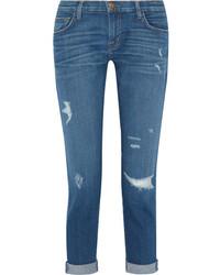 The fling distressed slim boyfriend jeans mid denim medium 845998