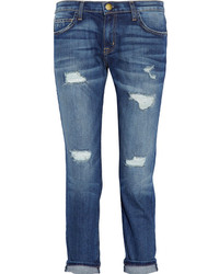 Current/Elliott The Fling Mid Rise Boyfriend Jeans