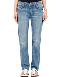 Current/Elliott The Long Boyfriend Jeans Blue