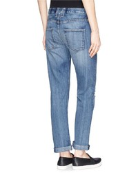 Current/Elliott The Long Boyfriend Ripped Jeans   Where to buy ...