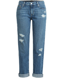 Theory Tatiyana Distressed Boyfriend Jeans