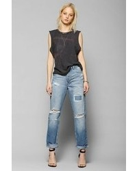 Urban Outfitters Light Before Dark Ripped Boyfriend Jean