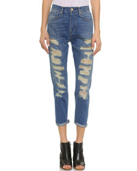 W4 high rise cropped boyfriend jeans medium 276181